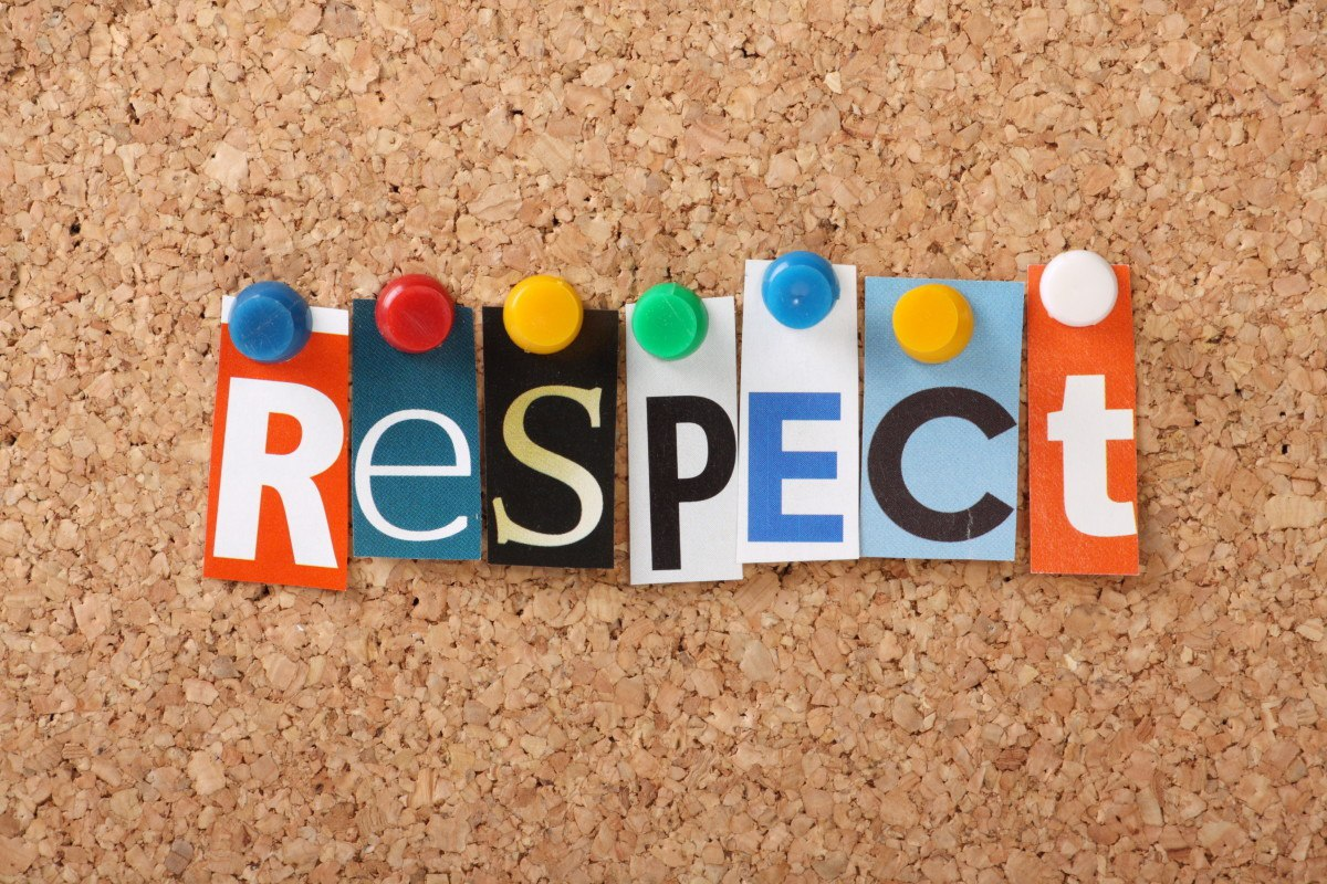 how to respect someone