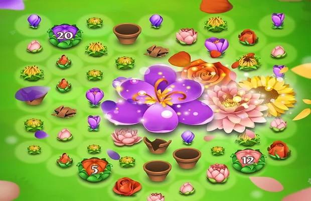 blossom-blast saga game trick