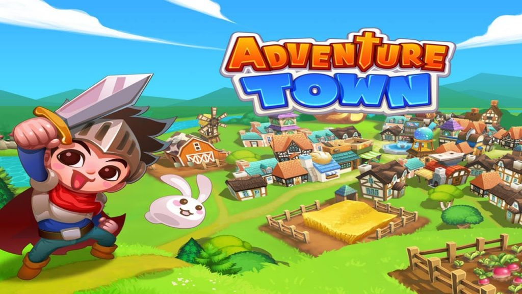 Adventure town game