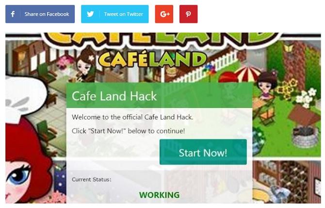 Cafeland Hack IGoGam