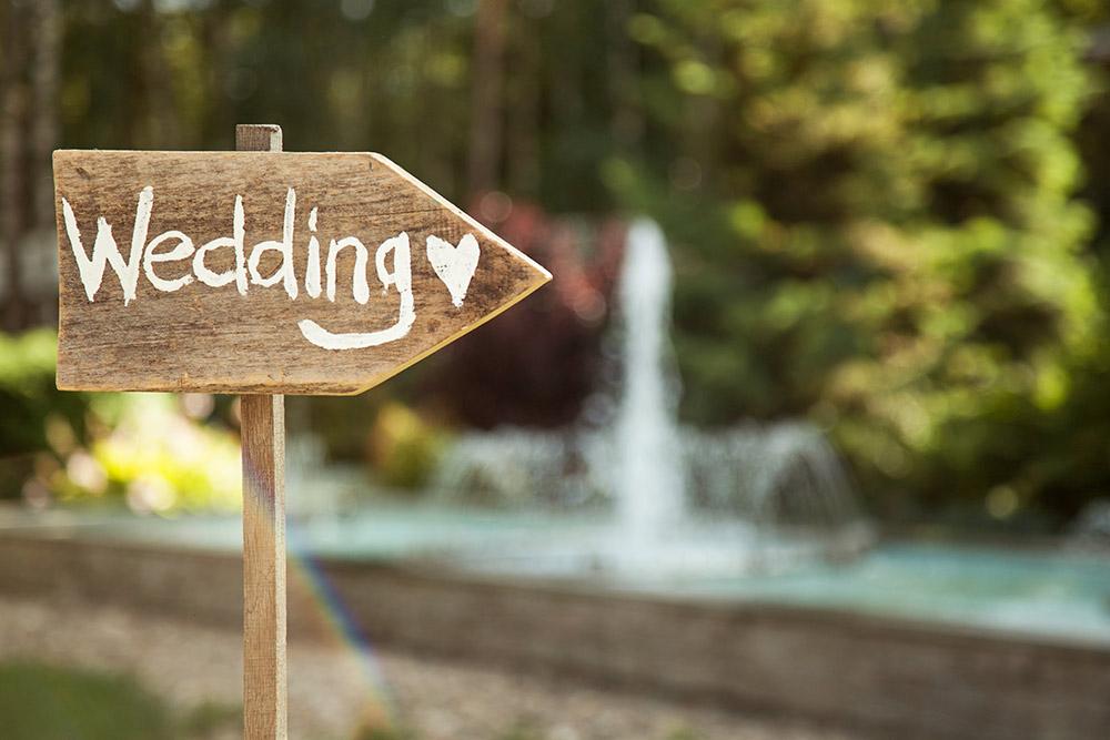a great wedding website