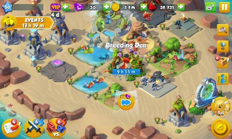 Dragon Mania Legends game tips