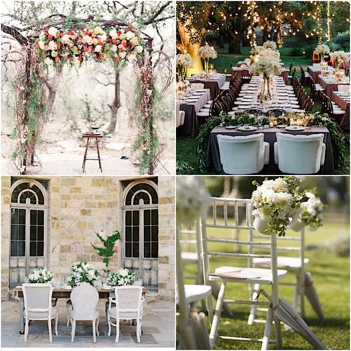 spring and summer wedding