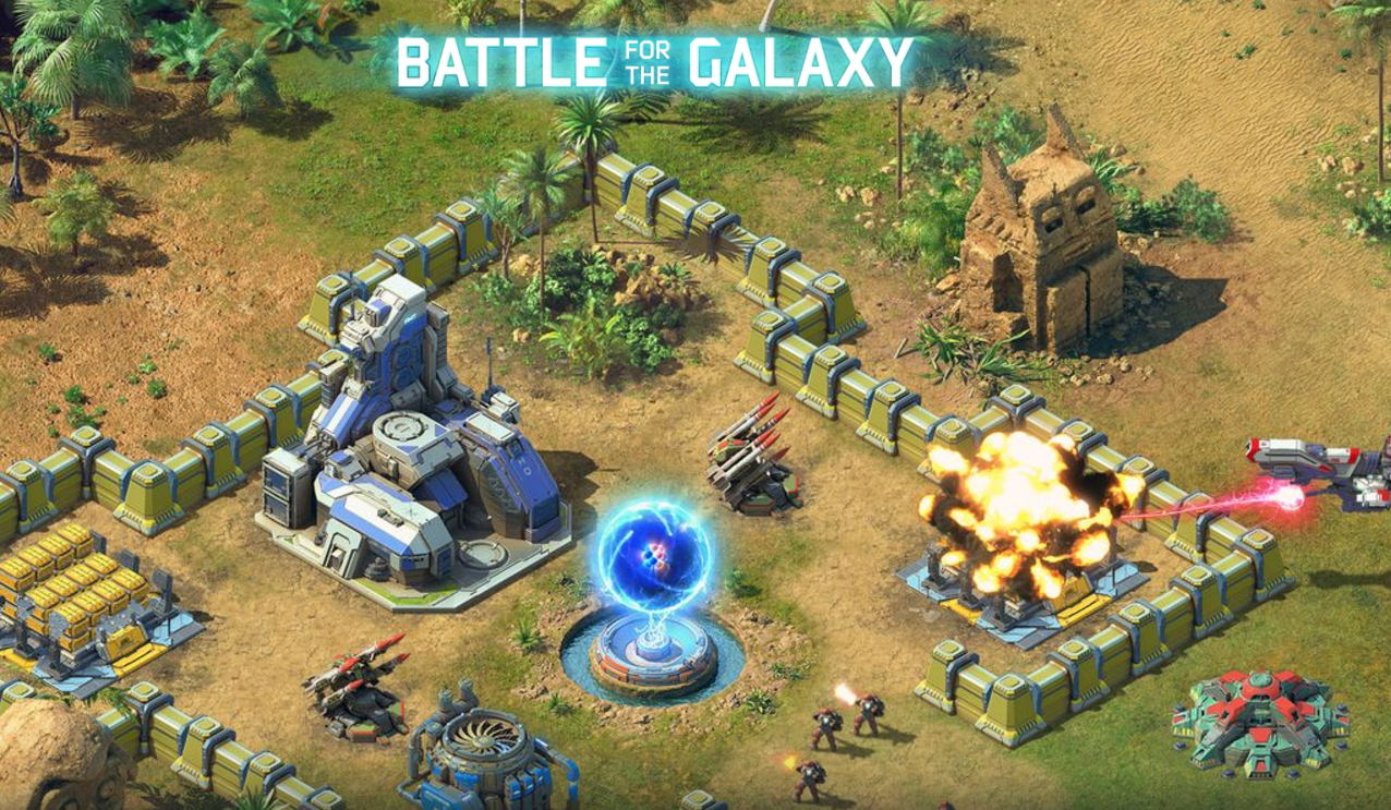 Battle for the galaxy gameplay