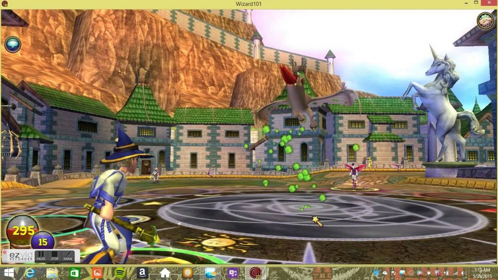 wizard 101 game play
