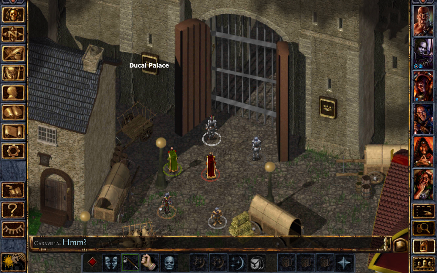 baldur's gate game