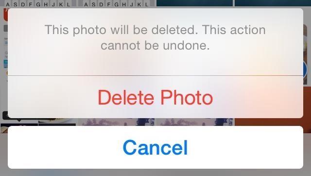 Delete Photos of Your Ex