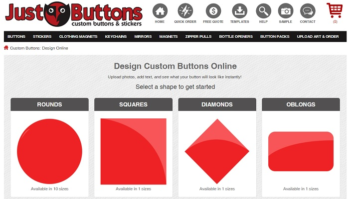 Just Buttons