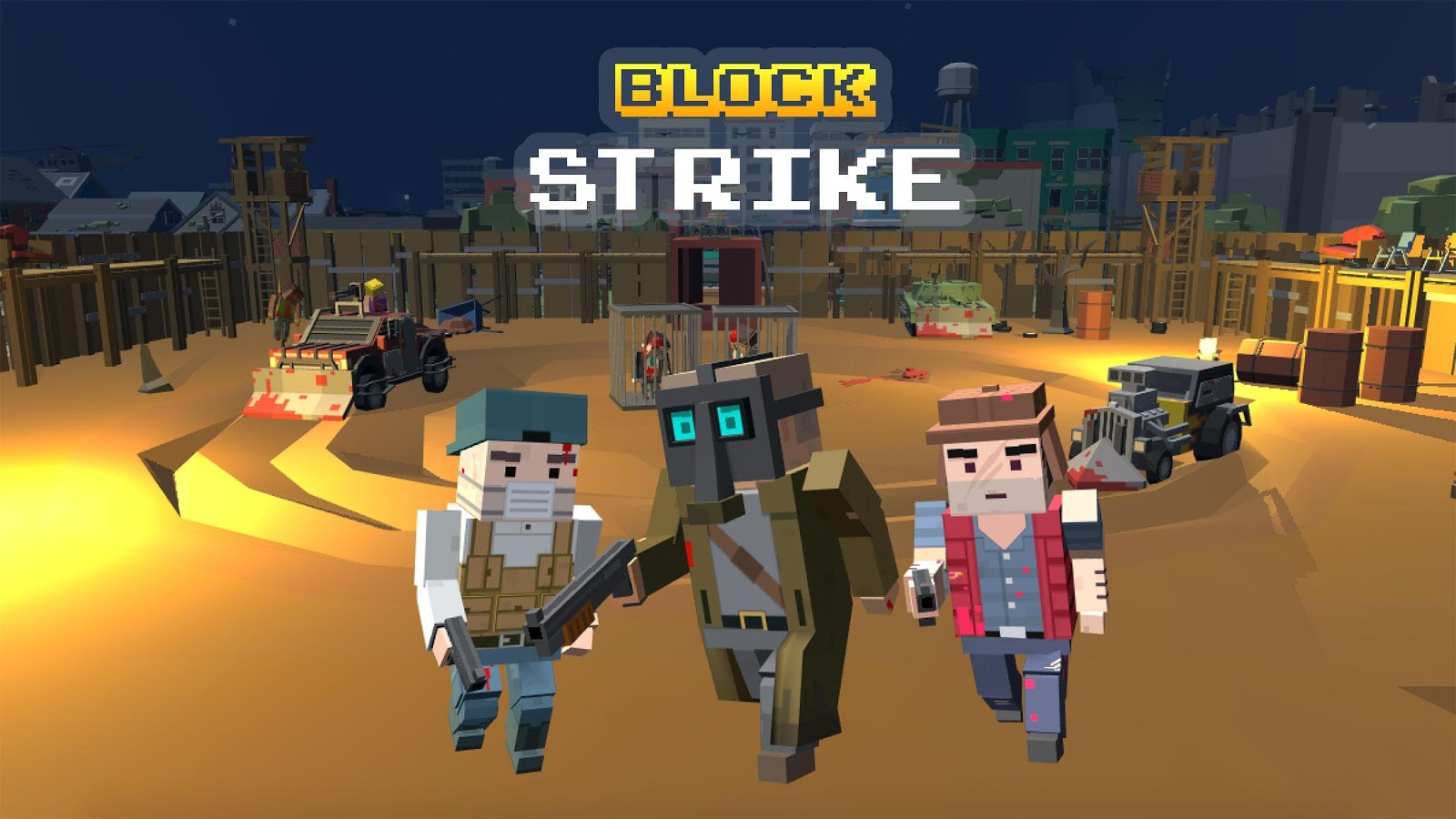 block strike gold