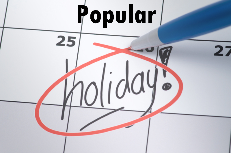 popular holiday