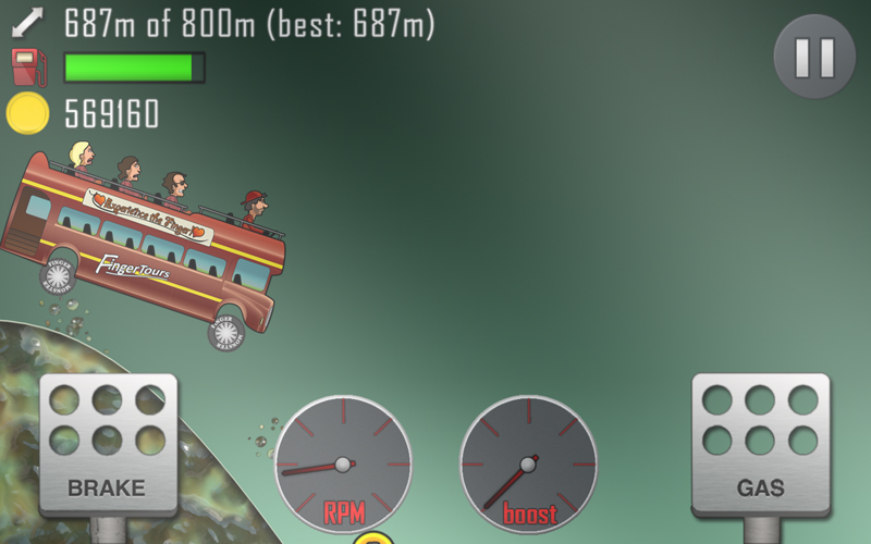 hill climb racing gameplay