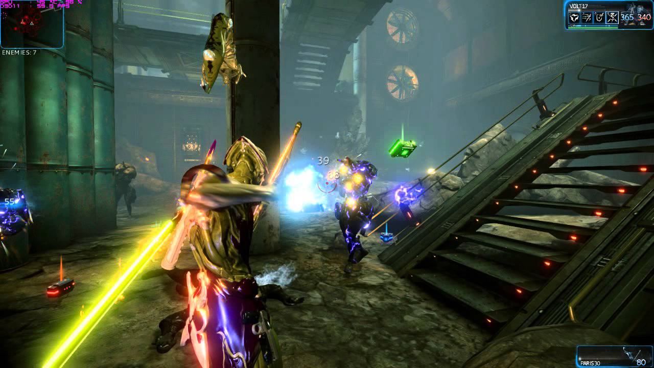 warframe gameplay